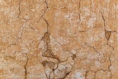 Предпосылка текстуры стены глины самана Брайна Стоковая Фотография