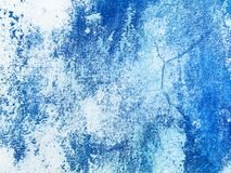 Предпосылка текстуры стены голубая абстрактная крася Штукатурка Venezian иллюстрация штока