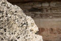 Предпосылка текстуры утеса естественная Стоковое Фото