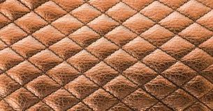 Предпосылка текстуры шва черная кожаная Органическая кожаная предпосылка Черная естественная кожаная текстура Стоковое фото RF
