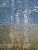 Предпосылка текстуры Grunge металлическая ржавая Стоковое фото RF