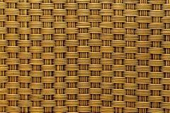 Предпосылка текстуры weave ротанга Стоковая Фотография RF