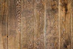 Предпосылка темного дуба деревянная Стоковая Фотография