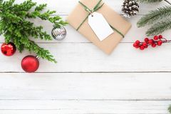 Предпосылка темы рождества Стоковые Изображения