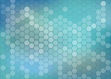Предпосылка технологии для глубоких нервных систем и квантового вычисления Стоковое Изображение