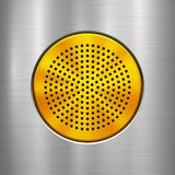 Предпосылка технологии металла Стоковое фото RF