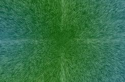 Предпосылка технологии с зелеными квадратами и кубами Стоковые Фото