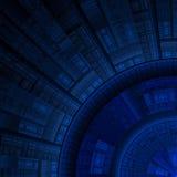 предпосылка технологическая Стоковое Изображение RF