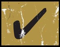 Предпосылка тикания Grunge, ответ Стоковая Фотография