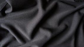 Предпосылка ткани хлопко-бумажной ткани сплетенная текстурой Стоковая Фотография