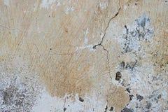 Предпосылка треснутая и шелушение краски старая стены Классический grunge Стоковое Фото