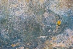 Предпосылка треснутая и шелушение краски старая стены Классический grunge Стоковые Фото