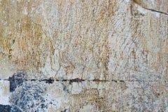 Предпосылка треснутая и шелушение краски старая стены Классический grunge Стоковая Фотография