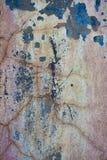 Предпосылка треснутая и шелушение краски старая стены Классический grunge Стоковое Изображение