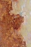 Предпосылка треснутая и шелушение краски старая стены Классический grunge Стоковое Изображение RF