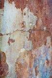 Предпосылка треснутая и шелушение краски старая стены Классическое te grunge Стоковое Изображение RF