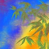 предпосылка тропическая Стоковая Фотография