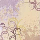 предпосылка увяла пурпуровая свирль Стоковые Фото