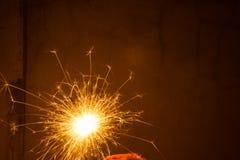 Предпосылка фейерверков абстрактная Стоковое фото RF