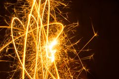 Предпосылка фейерверков абстрактная Стоковые Изображения