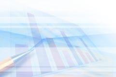 Предпосылка финансов абстрактная Стоковое фото RF