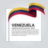Предпосылка флага Венесуэлы Стоковое фото RF