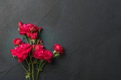 предпосылка флористическая подняла Стоковые Изображения RF