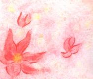 предпосылка флористическая Стоковое Фото