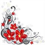 предпосылка флористическая иллюстрация штока
