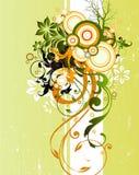 предпосылка флористическая Стоковые Фото