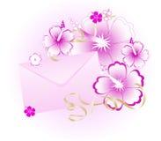 предпосылка флористическая Стоковая Фотография RF