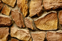 Предпосылка фото текстуры каменной стены Стоковое Фото