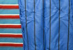 Предпосылка хлопко-бумажной ткани multi цветов ткани Стоковые Фотографии RF