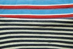 Предпосылка хлопко-бумажной ткани multi цветов ткани Стоковые Изображения RF