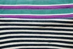 Предпосылка хлопко-бумажной ткани multi цветов ткани Стоковое Фото
