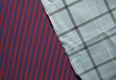 Предпосылка хлопко-бумажной ткани multi цветов ткани Стоковое фото RF