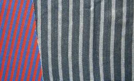 Предпосылка хлопко-бумажной ткани multi цветов ткани Стоковое Изображение RF