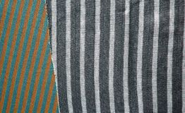 Предпосылка хлопко-бумажной ткани multi цветов ткани Стоковая Фотография RF