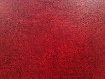 Предпосылка холста искусства абстрактная акриловая красная Стоковое Фото