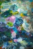 предпосылка цветастая акварель стоковое изображение