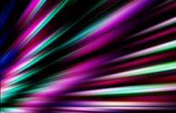 предпосылка цветастая Покрашенные нашивки расходясь от более низкого угла к краям в различном направлении Стоковое Изображение