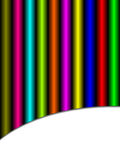 предпосылка цветастая Стоковые Фотографии RF