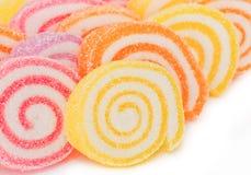 Предпосылка цветастой сладостной конфеты плодоовощ. Стоковые Фотографии RF