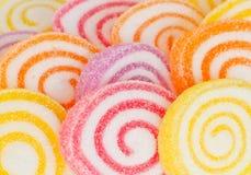 Предпосылка цветастой сладостной конфеты плодоовощ. Стоковые Изображения