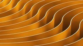 предпосылка цвета конспекта 3d Деревянные волны и кривые Стоковое Изображение