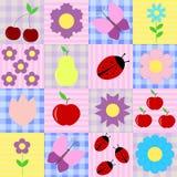 предпосылка цветет весна плодоовощей Стоковые Фотографии RF