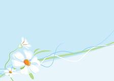 предпосылка цветет горизонтально Иллюстрация штока