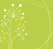 предпосылка цветет зеленый цвет бесплатная иллюстрация