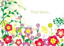 предпосылка цветет лето иллюстрация вектора