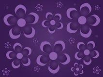 предпосылка цветет пурпур Стоковые Изображения